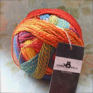 Crazy Zauberball - sock yarn